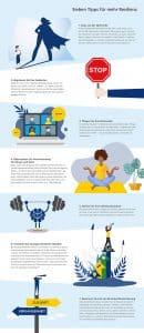Infografik Resilienz